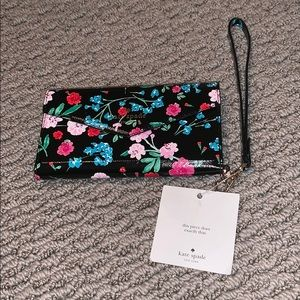 Kate spade flower phone wallet case